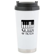 Piano Queen Of Keys Travel Mug