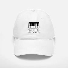 Piano Queen Of Keys Baseball Baseball Cap