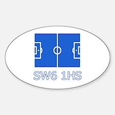 SW6 Sticker (Oval)
