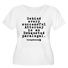 Behind Every Successful Attor T-Shirt
