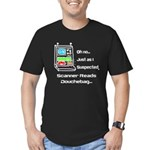 Fanboys Scanner Men's Fitted T-Shirt (dark)