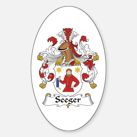 Seeger Sticker (Oval)