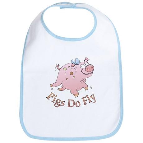 Pigs Do Fly Bib