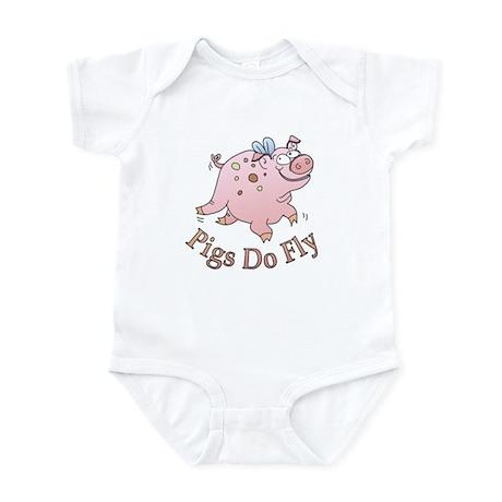Pigs Do Fly Infant Bodysuit