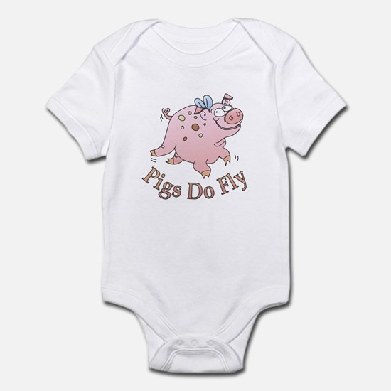 Pigs Do Fly Infant Bodysuit