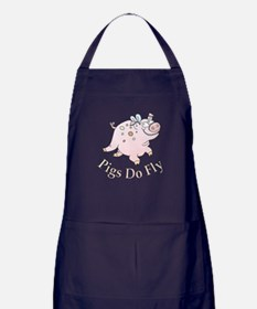 Pigs Do Fly Apron (dark)