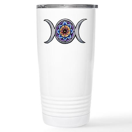 Triple Moon Stainless Steel Travel Mug