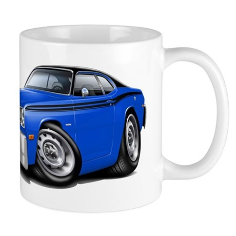 Duster Blue-Black Top Car Mug