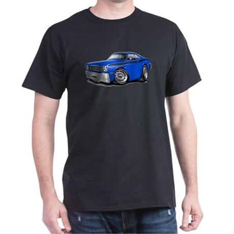 Duster Blue-Black Car Dark T-Shirt