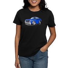 Duster Blue-Black Car Tee