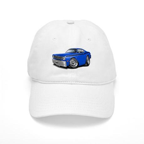 Duster Blue-Black Car Cap