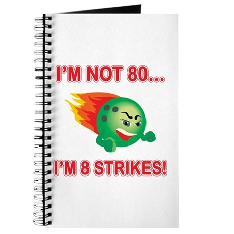80th Bday Strikes Journal