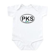 Pine Knoll Shores NC - Oval Design Infant Bodysuit