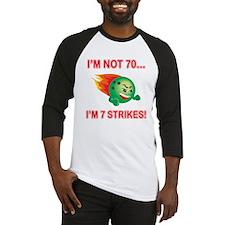 70th Bday Strikes Baseball Jersey