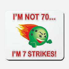 70th Bday Strikes Mousepad