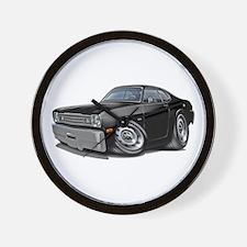 1970-74 Duster Black Car Wall Clock