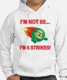 60th Bday Strikes Jumper Hoody