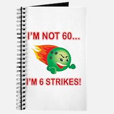 60th Bday Strikes Journal
