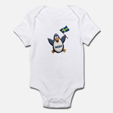 Sweden Penguin Infant Bodysuit