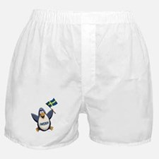 Sweden Penguin Boxer Shorts