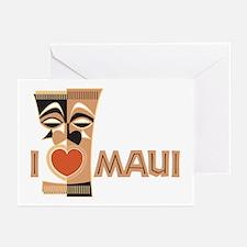 I Love Maui Greeting Cards (Pk of 20)