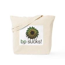 bp Sucks Tote Bag