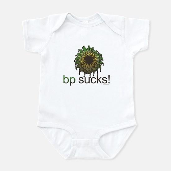 bp Sucks Infant Bodysuit
