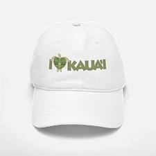 I Love Kaua'i Baseball Baseball Cap