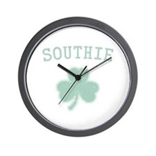 Southie Irish Wall Clock