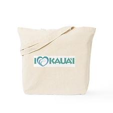 I Love Kaua'i Tote Bag