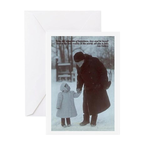 tolstoy graduation Greeting Card