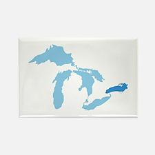 Lake Ontario Rectangle Magnet