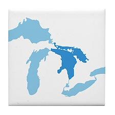 Lake Huron Tile Coaster