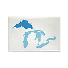 Lake Superior Rectangle Magnet