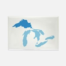 Lake Superior Rectangle Magnet