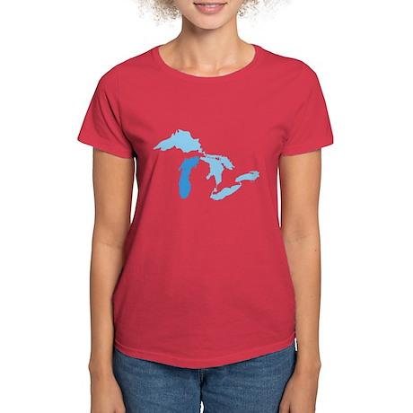 Lake Michigan Women's Dark T-Shirt