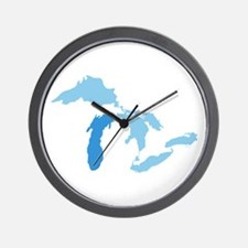 Lake Michigan Wall Clock