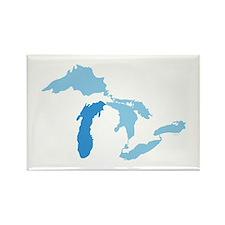Lake Michigan Rectangle Magnet