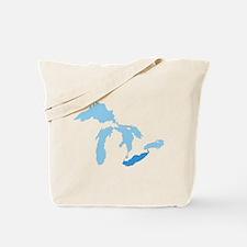 Lake Erie Tote Bag