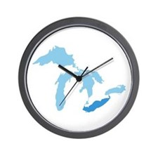 Lake Erie Wall Clock