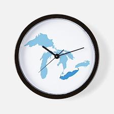 Lake Erie Wall Clock