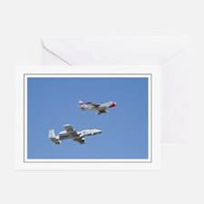 A10 F86 Greeting Cards (Pk of 10)