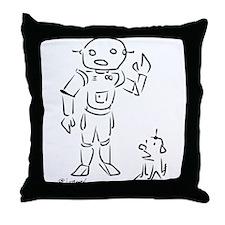Cute Cartoon dogs Throw Pillow