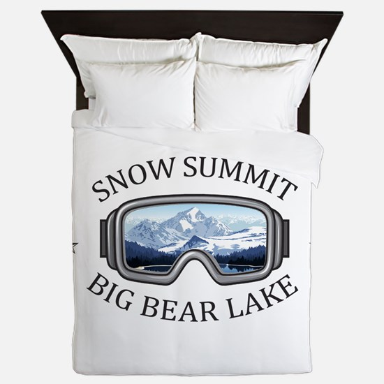 Snow Summit - Big Bear Lake - Califo Queen Duvet