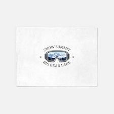 Snow Summit - Big Bear Lake - Cal 5'x7'Area Rug
