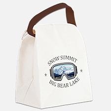 Snow Summit - Big Bear Lake - C Canvas Lunch Bag