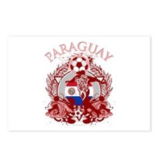 Paraguay Soccer Postcards (Package of 8)