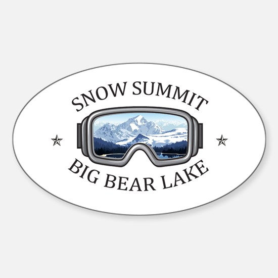 Snow Summit - Big Bear Lake - California Decal