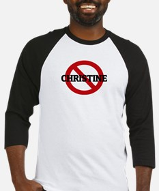 Anti-Christine Baseball Jersey