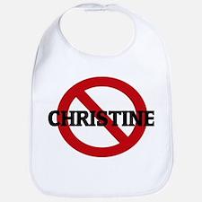 Anti-Christine Bib